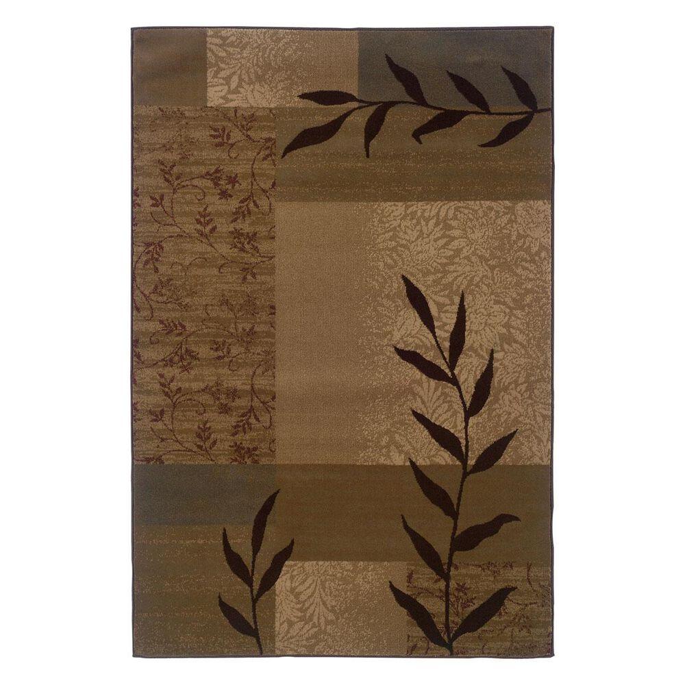 "Oriental Weavers Tybee 2362J 1""10"" x 2""10"" Gold Scatter Rug, , large"