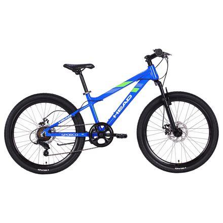Blue kids bike
