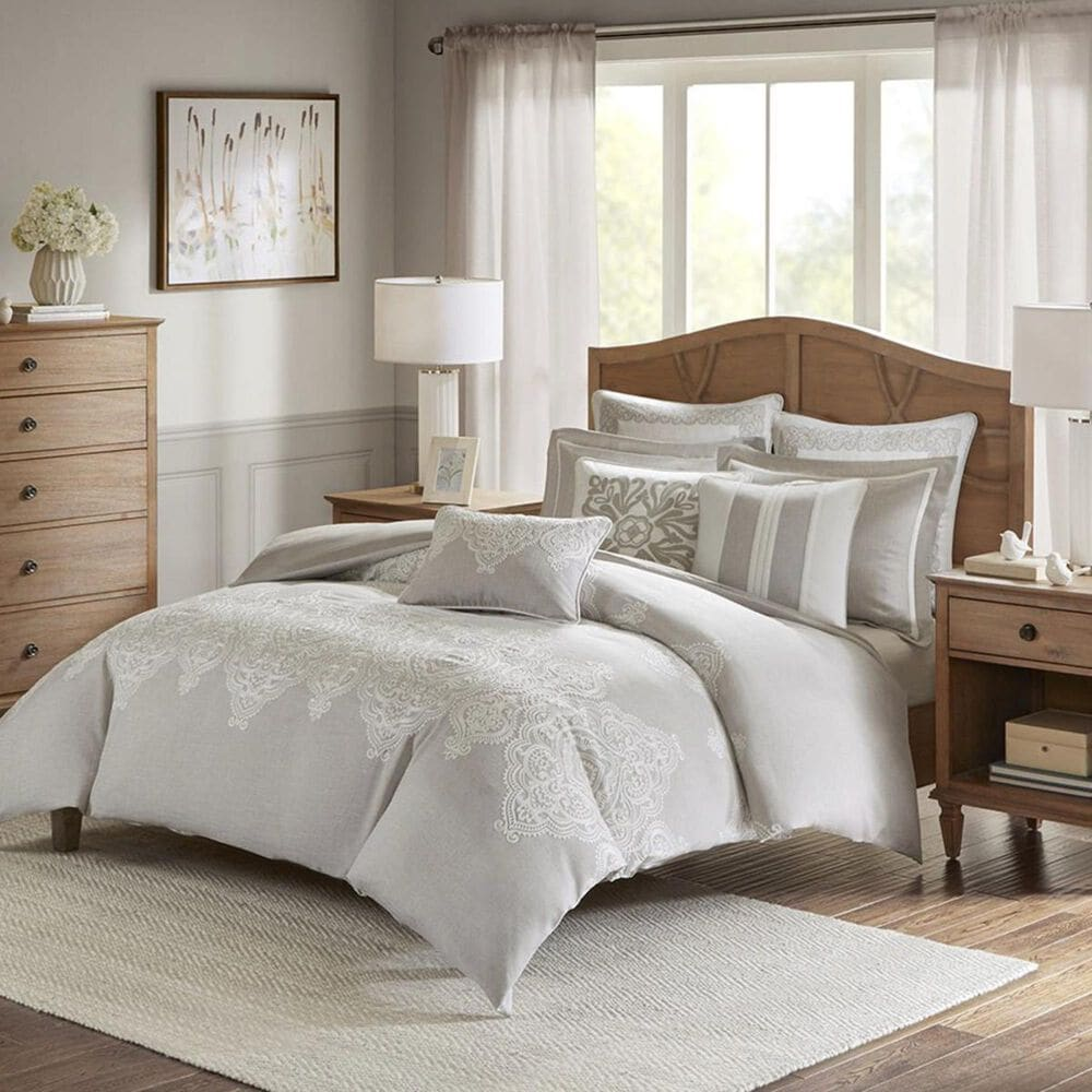 Goldstar Bedding Barely There 8-Piece Queen Comforter Set in Natural, , large