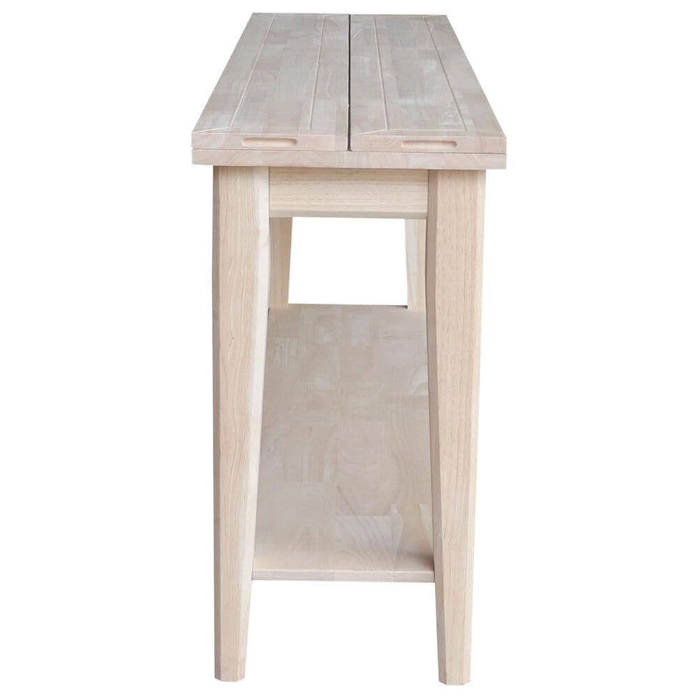 International Concepts Prevail Console Table in Unfinished, , large