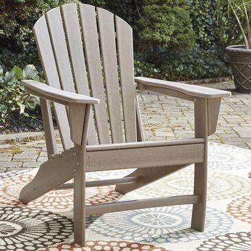 Signature Design by Ashley Sundown Treasure Adirondack Chair in Grayish Brown, , large