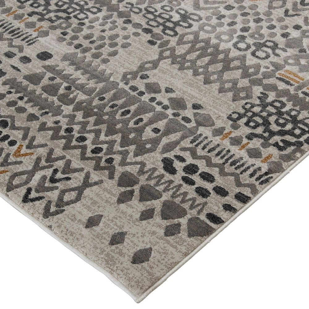Central Oriental Adore Jackson 9273WCN 8' x 10' Whitecap and Nectar Area Rug, , large