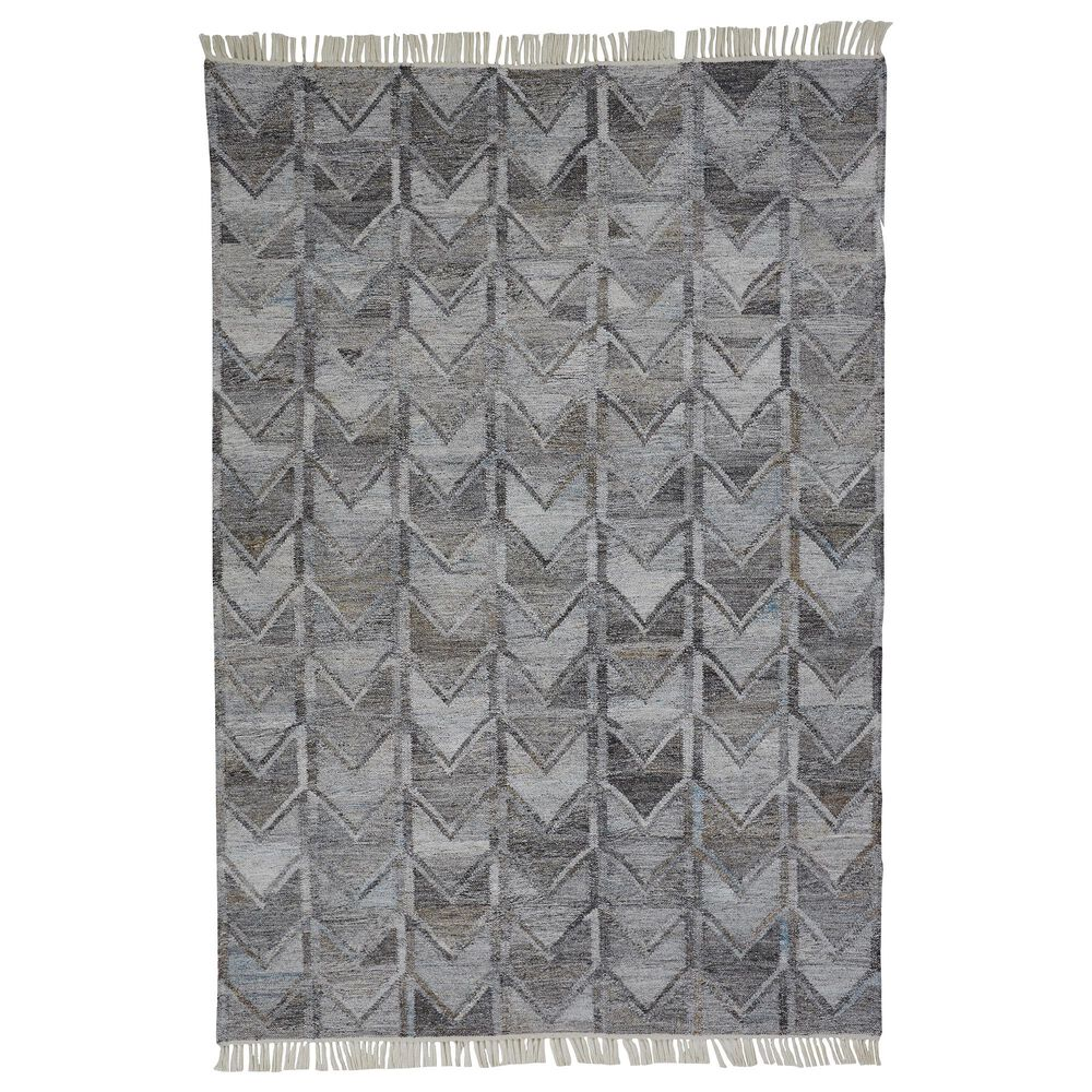 Feizy Rugs Beckett 0813F 9' x 12' Gray Area Rug, , large