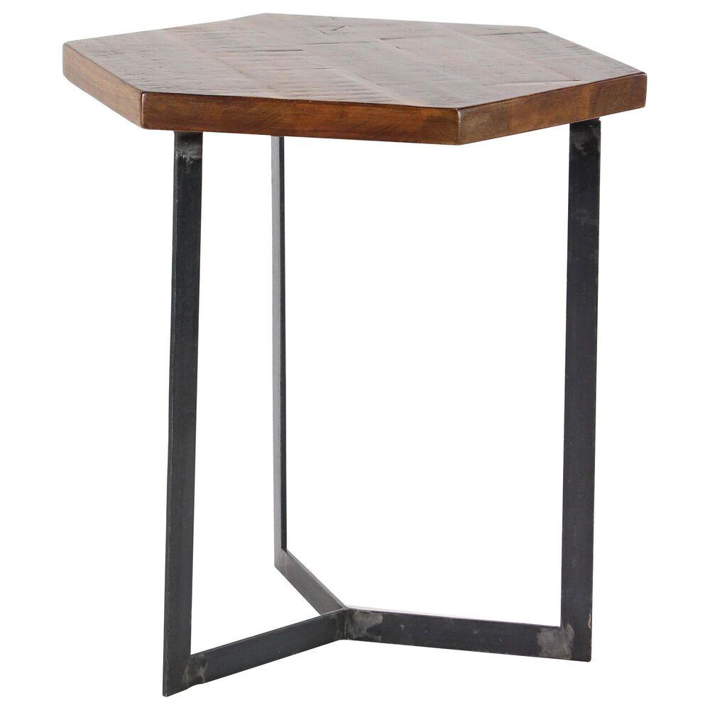 "Uma Enterprises Annabel18"" x 17"" Coffee Table in Brown (Set of 3), , large"