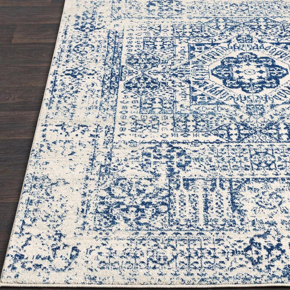 "Surya Harput HAP-1025 3'10"" x 5'7"" Dark Blue, Light Gray and Beige Area Rug, , large"