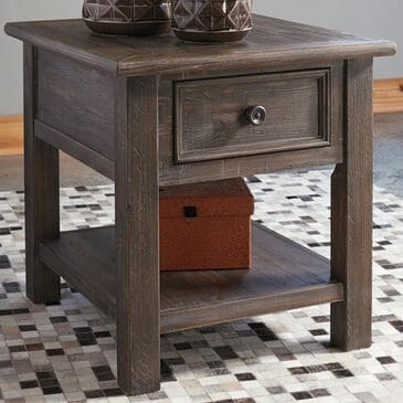 Signature Design by Ashley Wyndahl End Table in Rustic Brown, , large