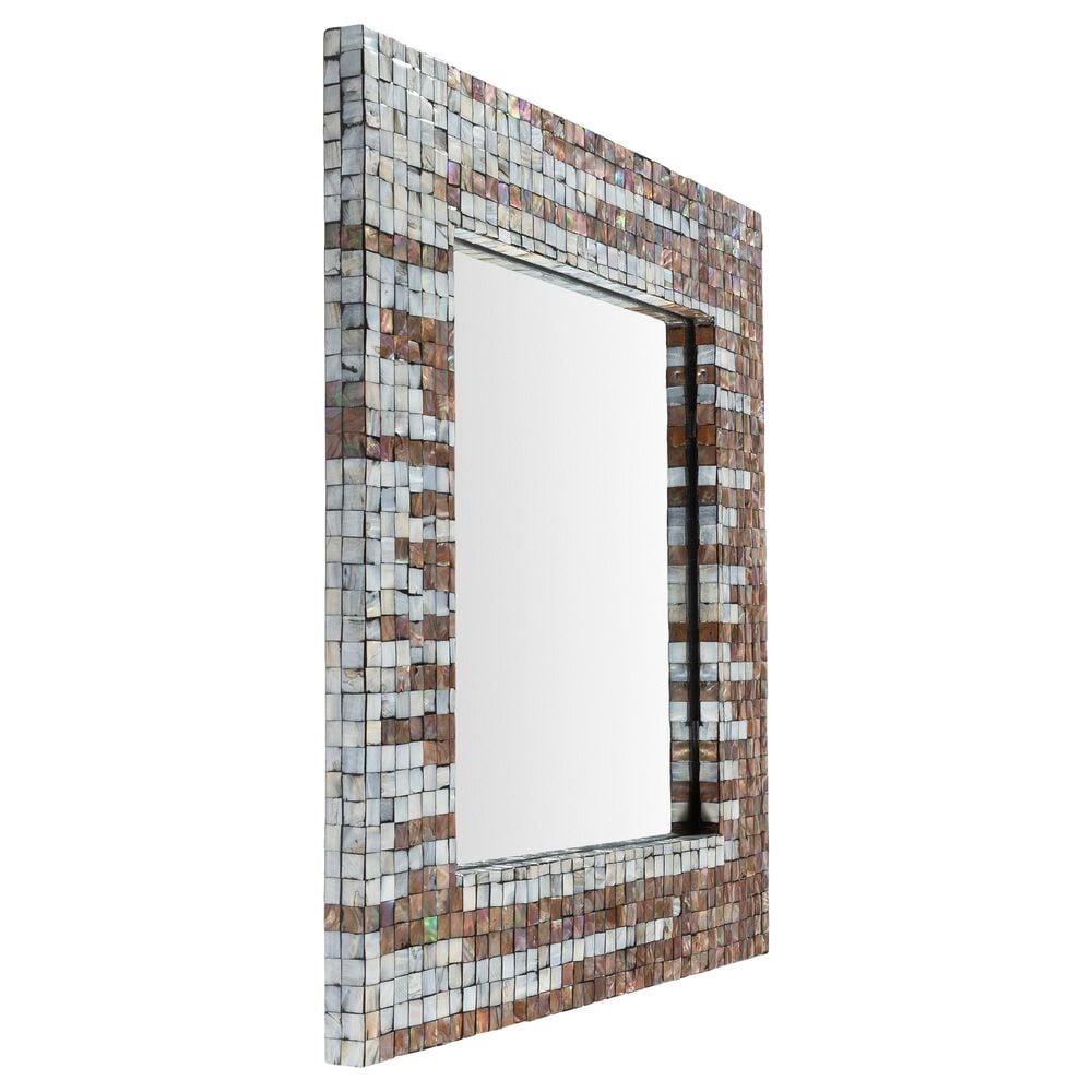 Surya Inc Hornbrook Wall Mirror in Gray, , large