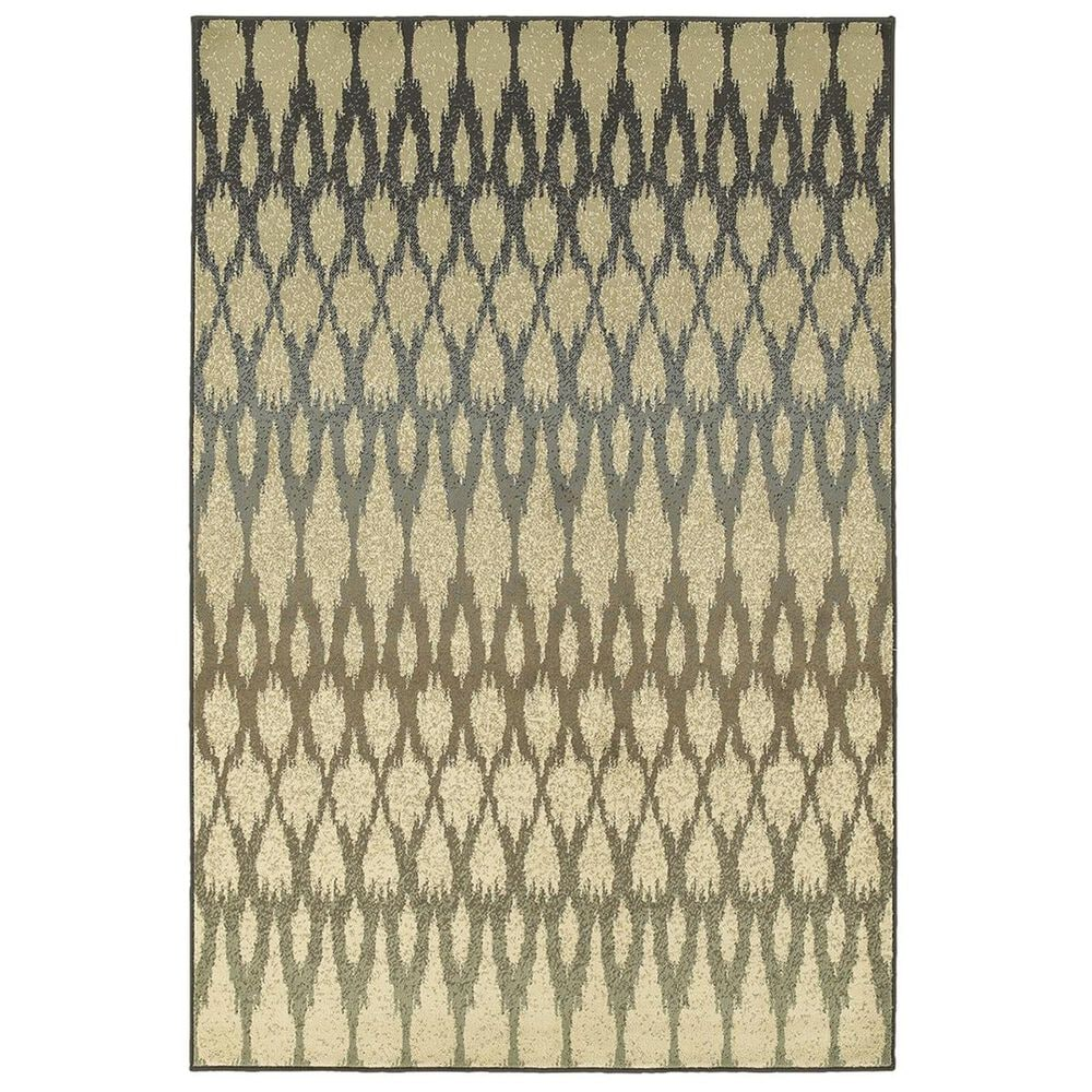 """Oriental Weavers Brentwood 001H9 9'10"""" x 12'10"""" Ivory Area Rug, , large"""
