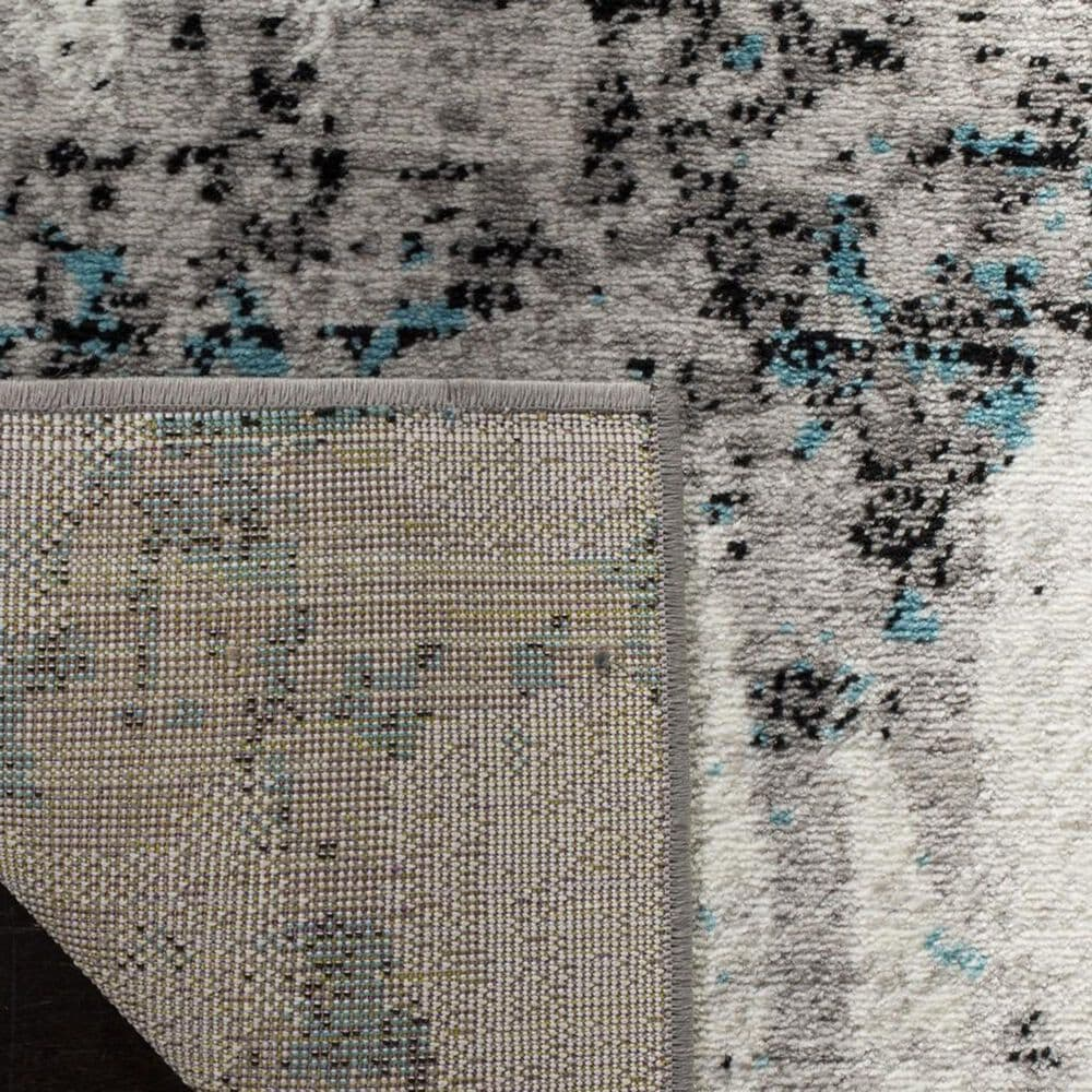 Safavieh Skyler SKY193B 4' x 6' Gray and Blue Area Rug, , large