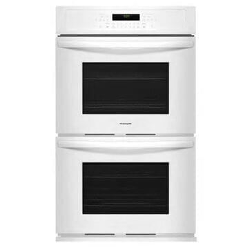 Frigidaire 27'' Double Electric Wall Oven in White, , large