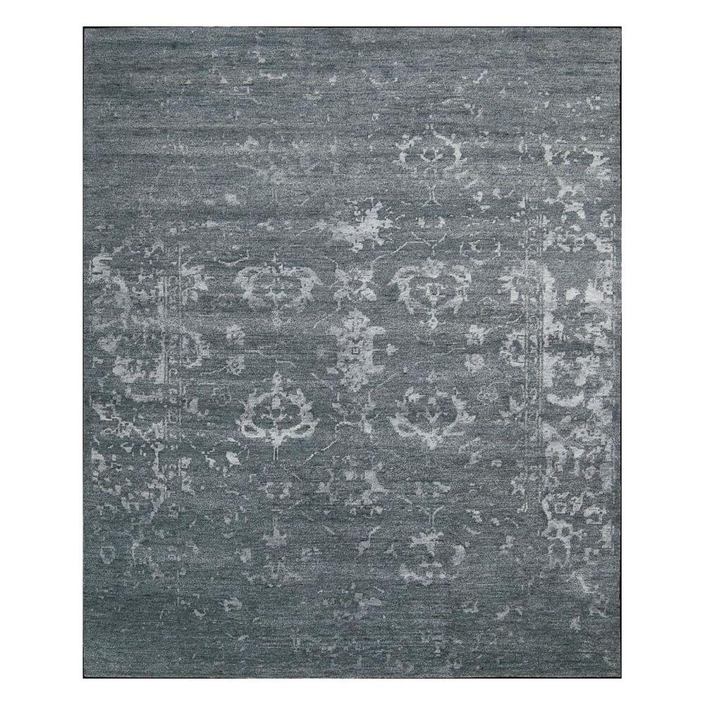"Nourison Silk Shadows SHA15 5'6"" x 7'5"" Blue Stone Area Rug, , large"