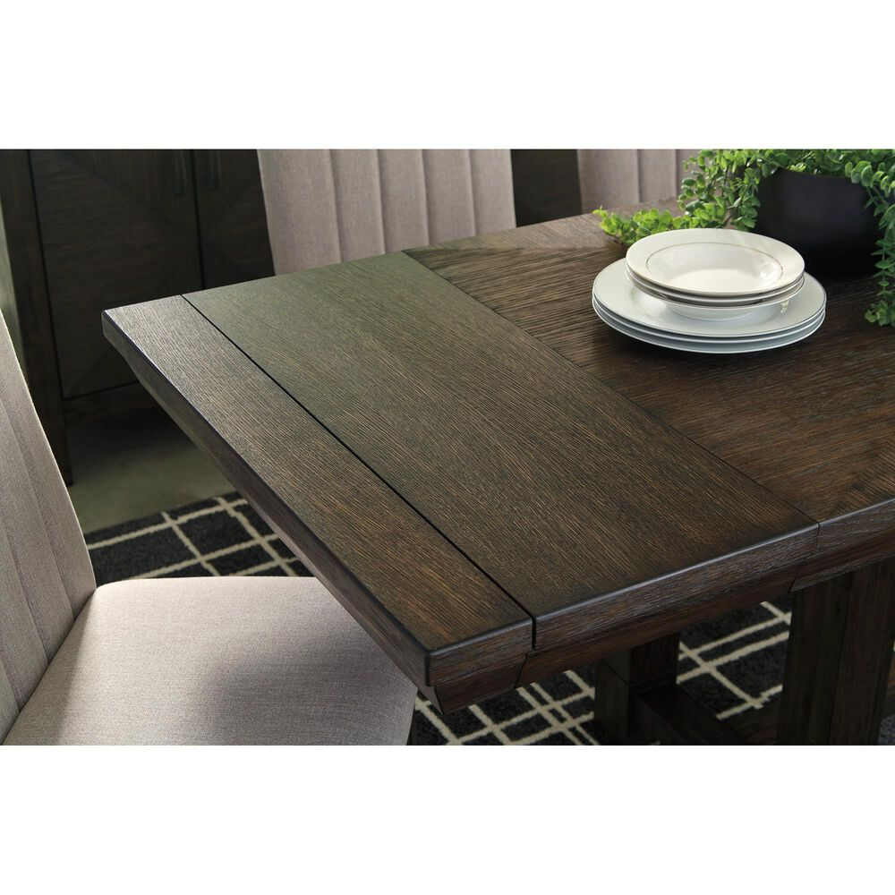 Signature Design by Ashley Dellbeck Dining Extension Table in Brown, , large
