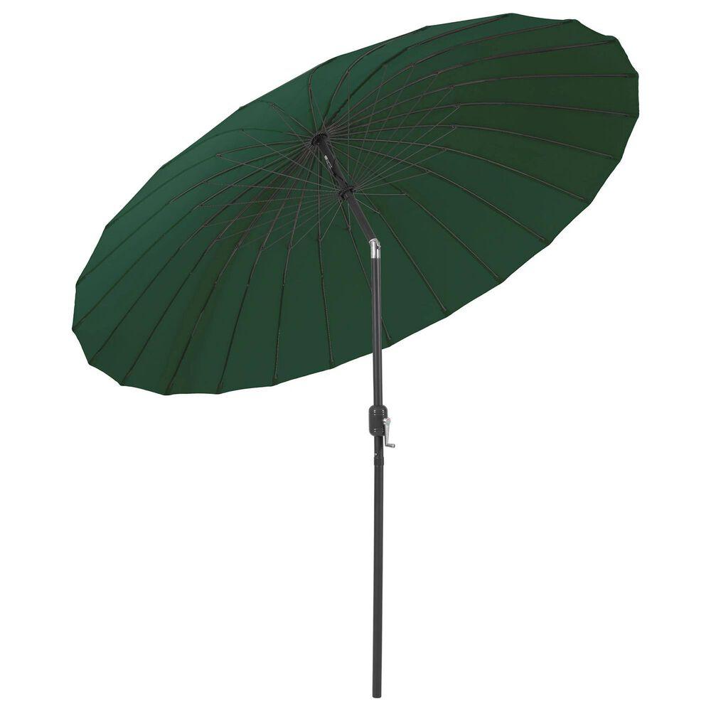 CorLiving Patio Parasol Umbrella in Dark Green, , large