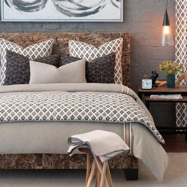 Eastern Accents Bale 11-Piece King Duvet Set in Tan, , large
