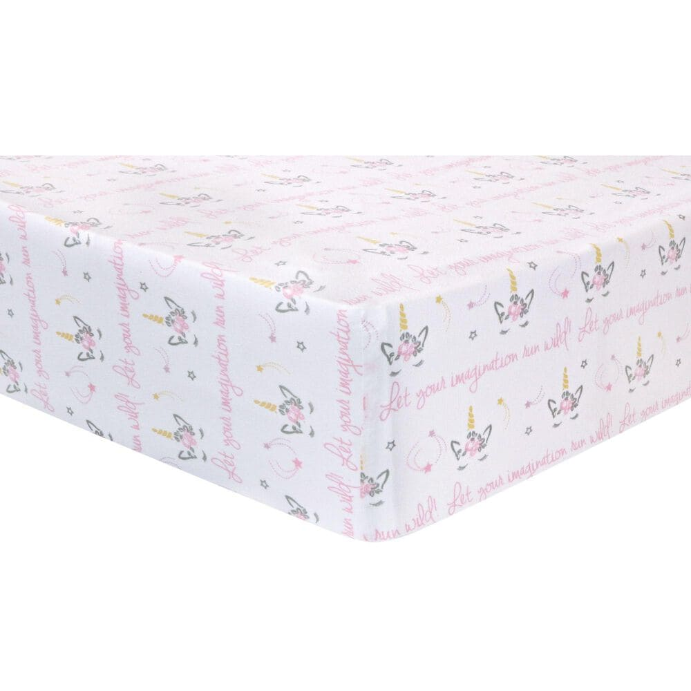 Trend Labs Mystical Dreams 4-Piece Crib Bedding Set, , large