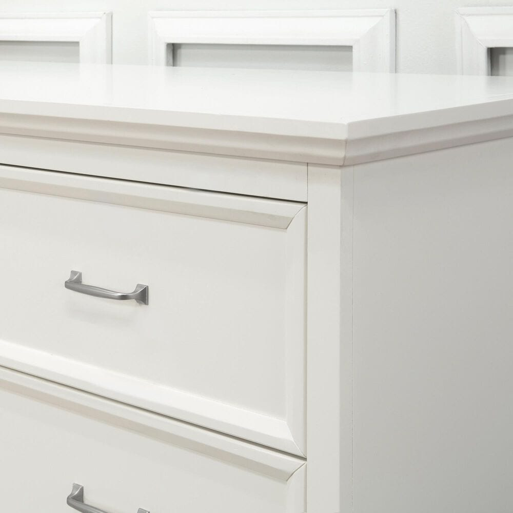 New Haus Foothill Crib and Dresser in Warm White, , large