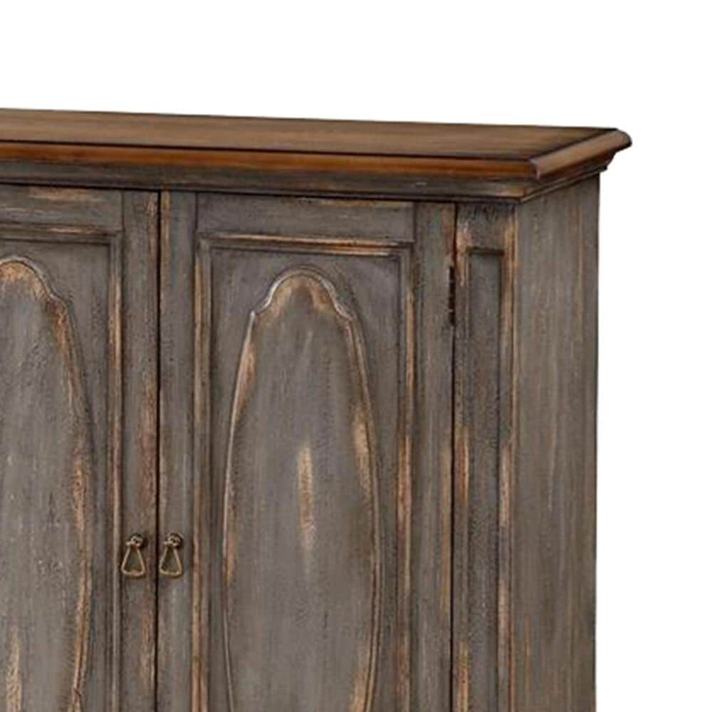 Shell Island Furniture Credenza in Sicily Aged Blue Rub, , large
