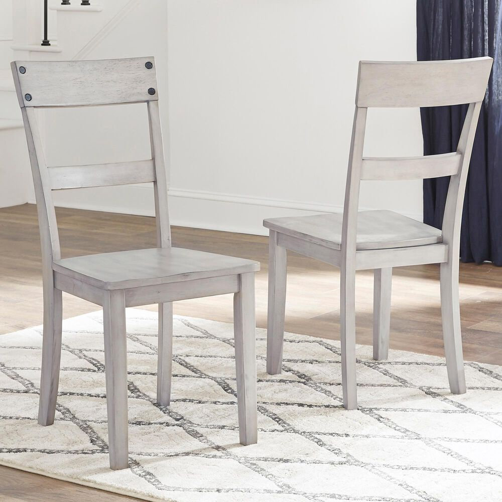 Signature Design by Ashley Loratti Side Chair in Natural Wood (Set of 2), , large
