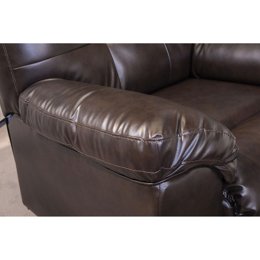 Signature Design by Ashley Donlen Recliner in Chocolate, , large