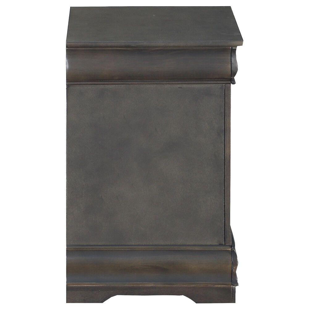 Gunnison Co. Louis Philippe Nightstand in Dark Gray, , large