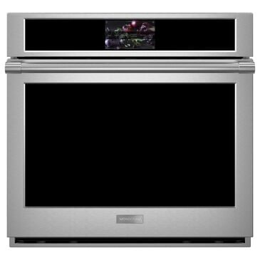 "Monogram 30"" Smart Electric Convection Single Wall Oven Statement Collection - Stainless Steel , , large"
