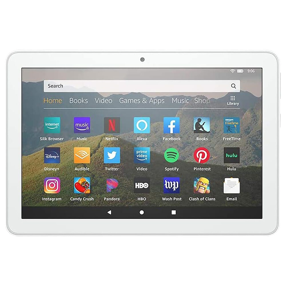 """Amazon Fire HD 8 Tablet 8"""" 32GB in White   Wi-Fi, , large"""