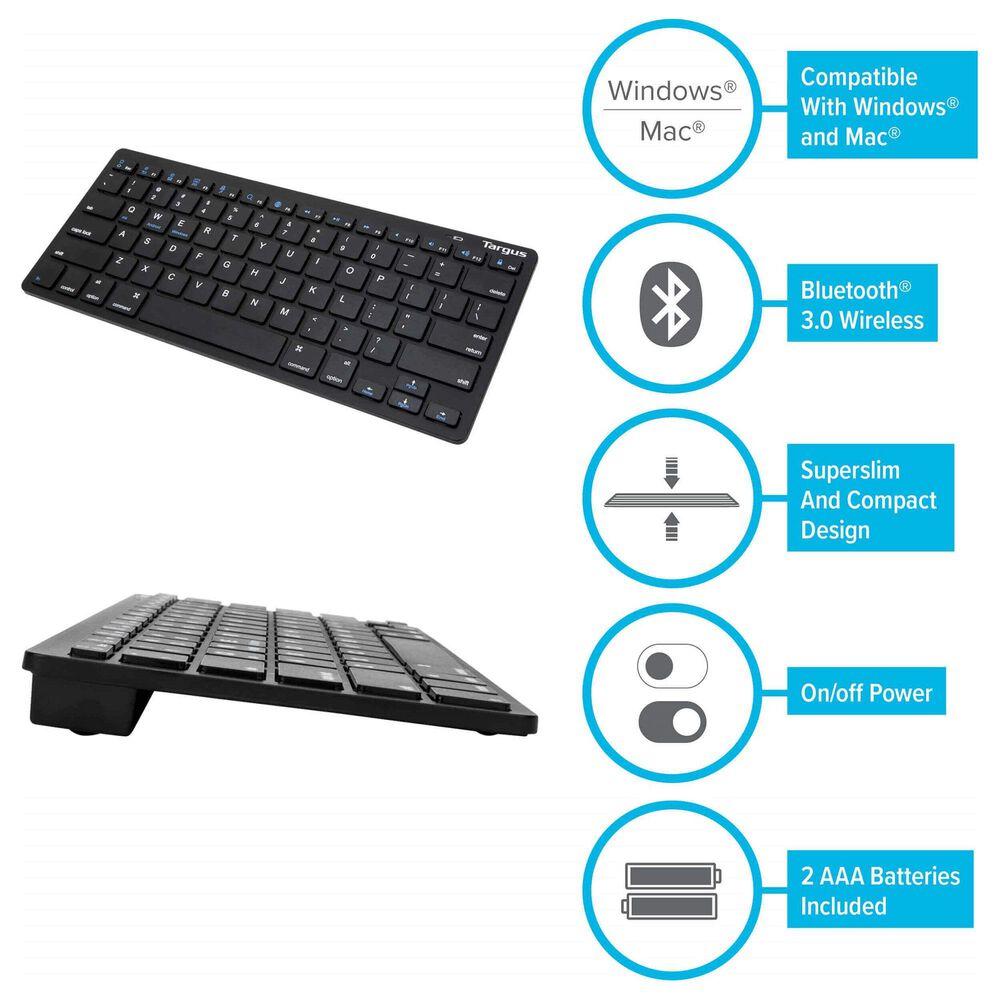 Targus Multi-Platform Bluetooth Keyboard in Black, , large