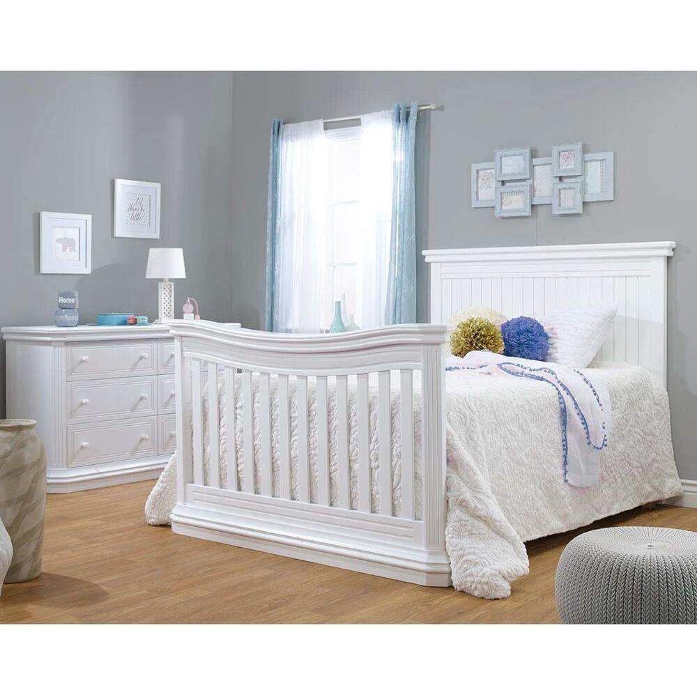 Sorelle Primo Double Dresser in White, , large