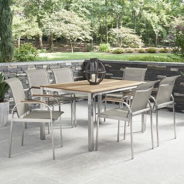 Home Styles Aruba 7-Piece Patio Dining Set in Gray, , large