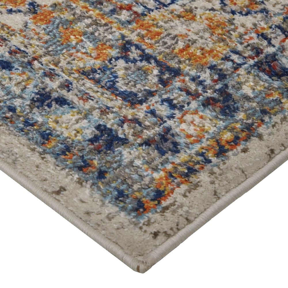 Feizy Rugs Bellini 2' x 3' Gold and Orange Area Rug, , large