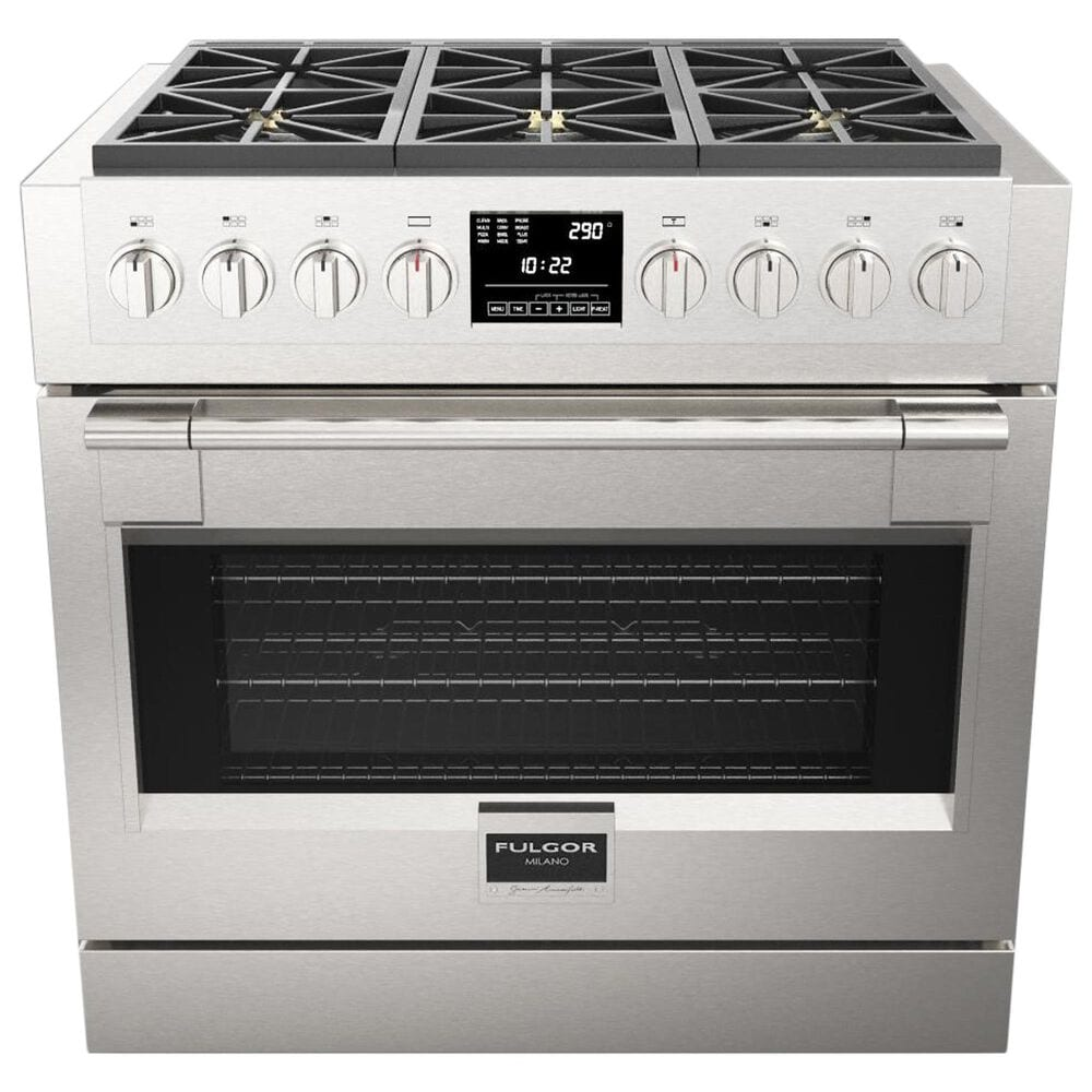 Milano s 5.7 Cu. Ft. Sofia Pro Dual Fuel Range in Stainless Steel, , large