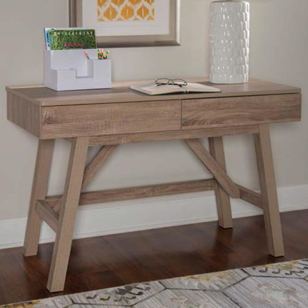 Linden Boulevard Tracey Desk in Gray, , large