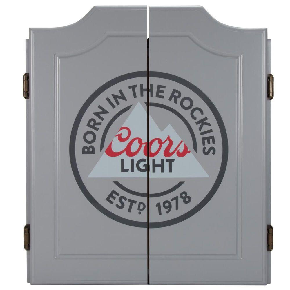 Timberlake Coors Light Dartboard Set, , large