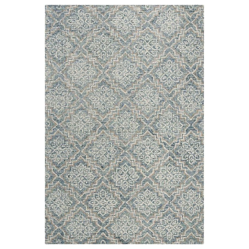 Safavieh Abstract 5' x 8' Blue and Grey Area Rug, , large