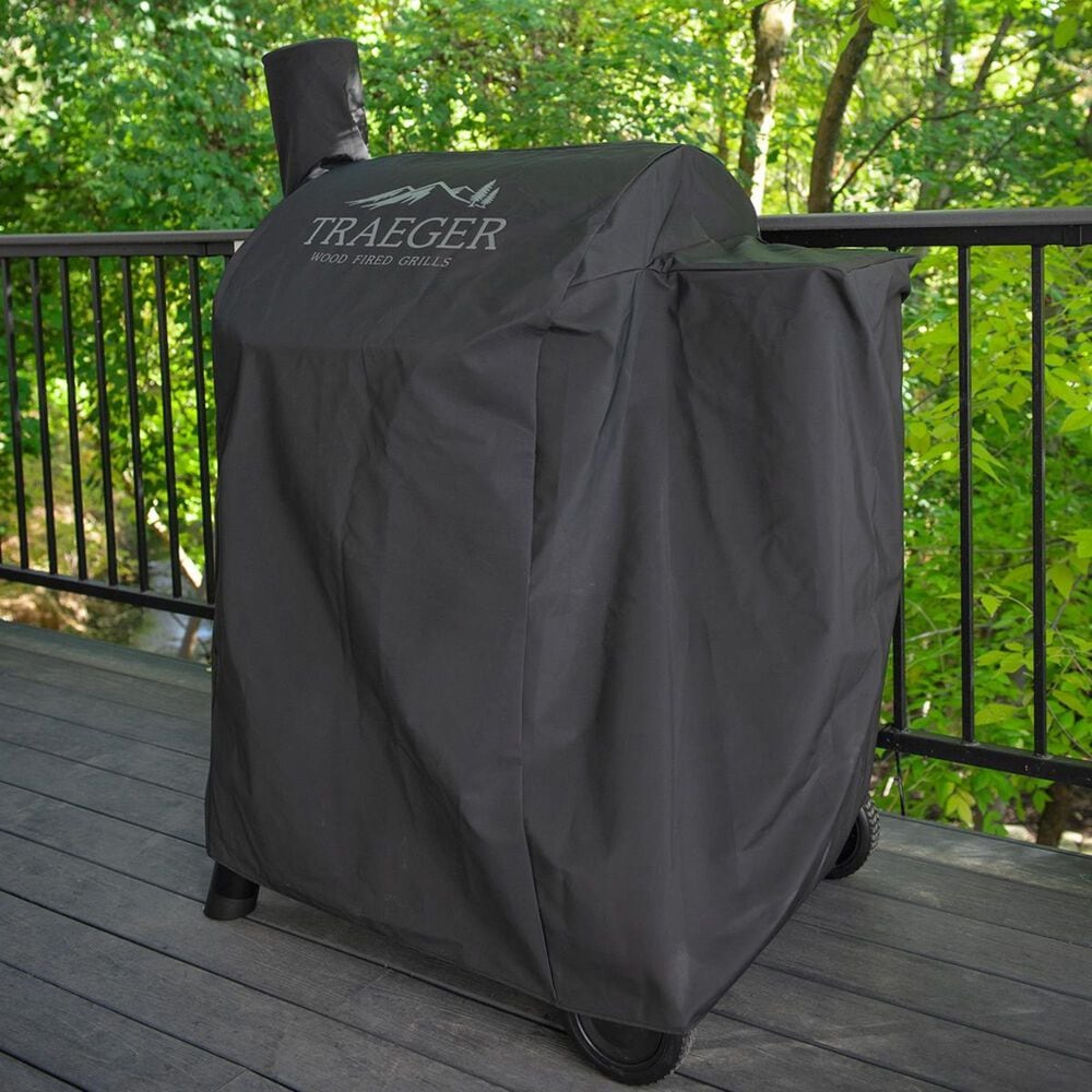 Traeger Grills Black Full Length Cover for Traeger Pro 575 Pellet Grill, , large