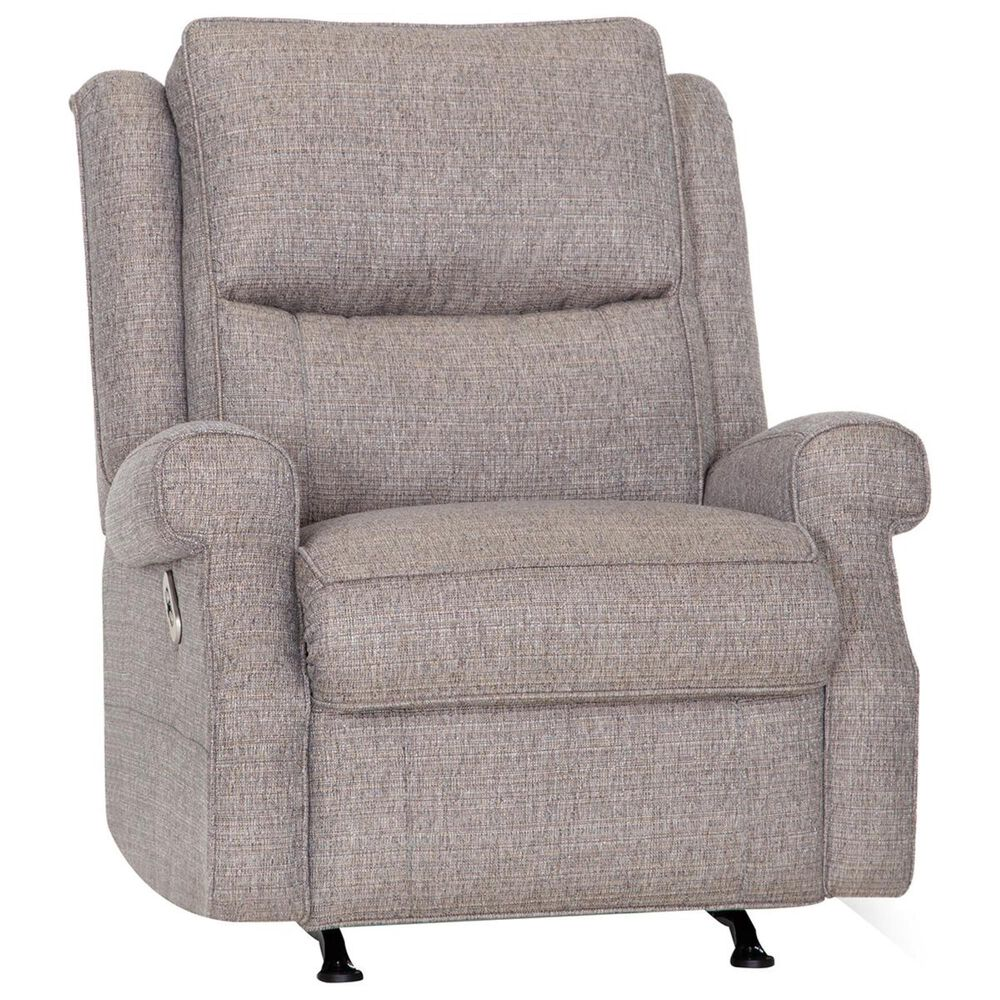 Moore Furniture Windham Power Rocker Recliner with Power Headrest and USB in Brindle, , large