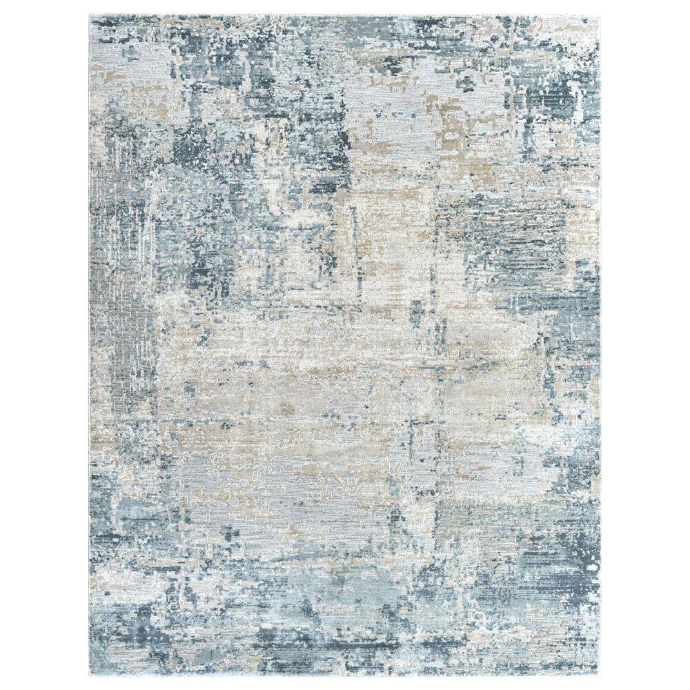 "Surya Brunswick 9"" x 12""2"" Sage, Gray, White and Blue Area Rug, , large"