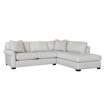 Fulton Home East Hampton 2-Piece Sectional in Linen, , large