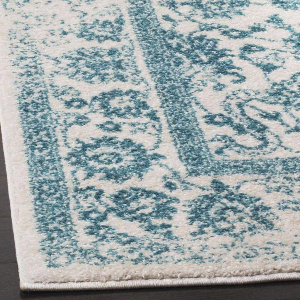 Safavieh Adirondack ADR109D 8' x 10' Ivory and Teal Area Rug, , large