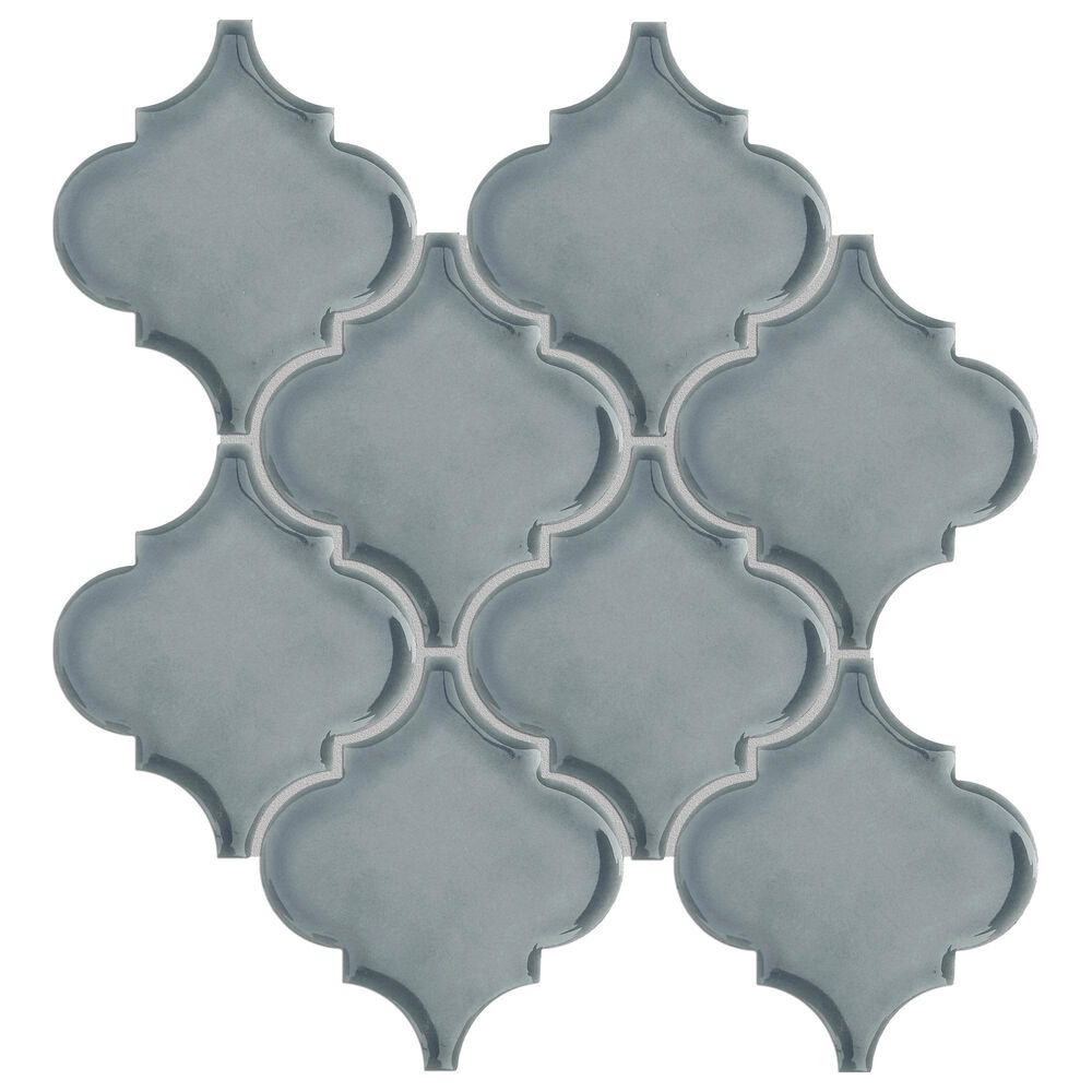 "Emser Morocco Dove 10"" x 11"" Ceramic Mosaic Sheet, , large"
