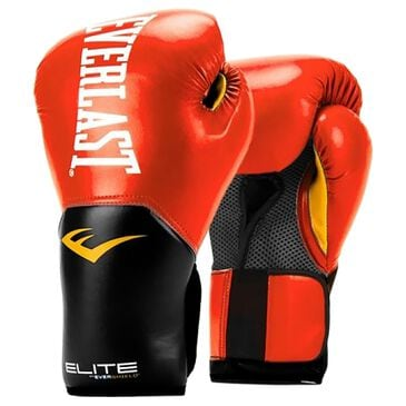 Everlast Elite Pro Style 12 Oz Training Gloves in Red, , large
