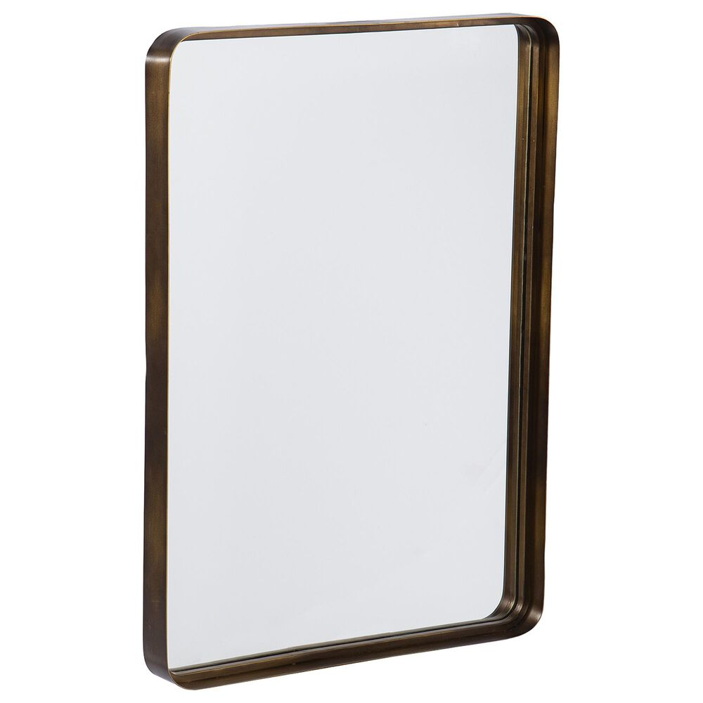 Southern Enterprises Waymire Mirror in Antique Gold/Mirror, , large