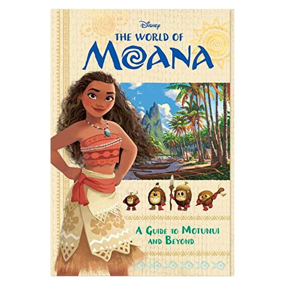 The World of Moana: A Guide to Motunui and Beyond (Disney Moana), , large