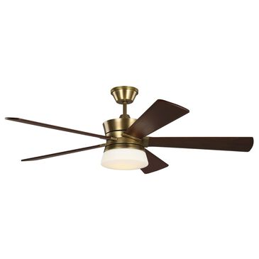 Murray Feiss Atlantic Ceiling Fan in Hand-Rubbed Antique Brass, , large