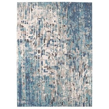 Scott Living Expressions Precipice 91676-50137 2' x 3' Lagoon Scatter Rug, , large