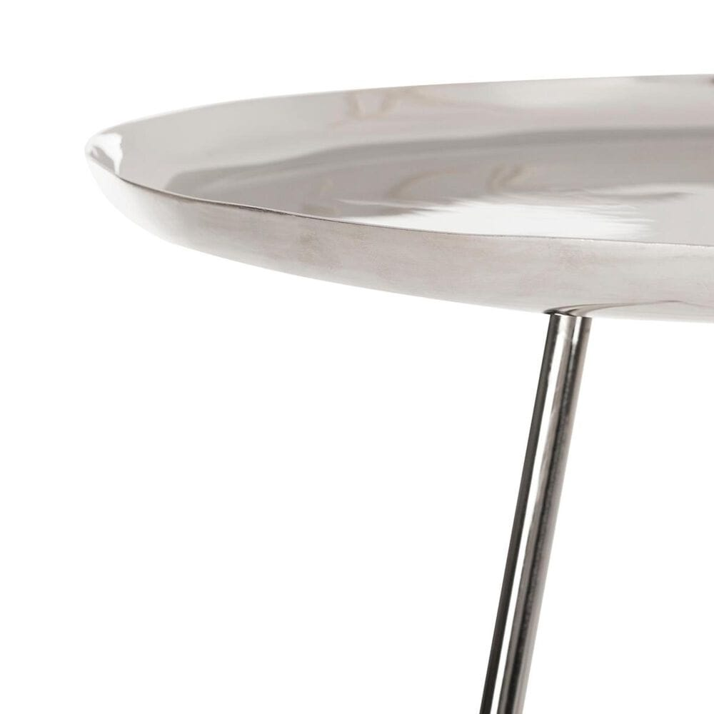 Safavieh Calix Side Table in Silver and Gold, , large