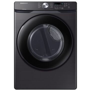 Samsung 7.5 Cu. Ft. Front Load Electric Dryer with Sensor Dry in Fingerprint Resistant Black Stainless Steel , , large