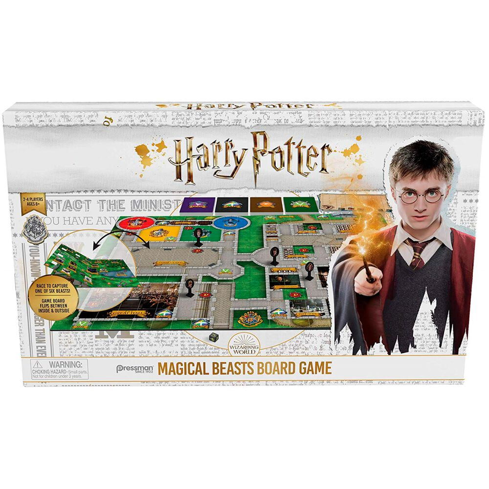 Goliath Games Harry Potter Magical Beasts Board Game, , large