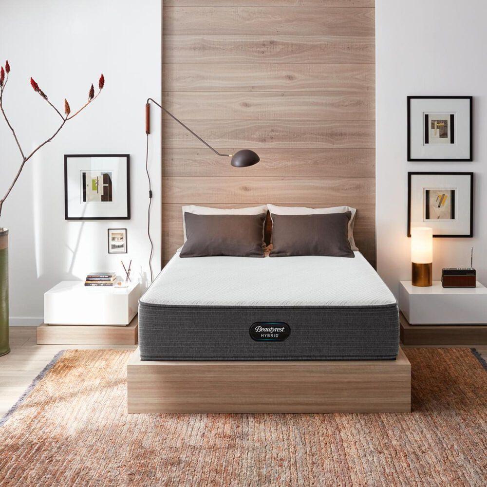 Beautyrest Hybrid 1000-C Plush California King Mattress with High Profile Box Spring, , large