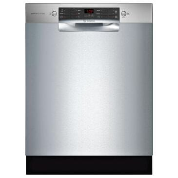 "Bosch 800 Series 24"" Built-In Recessed Handle Dishwasher in Stainless Steel, , large"